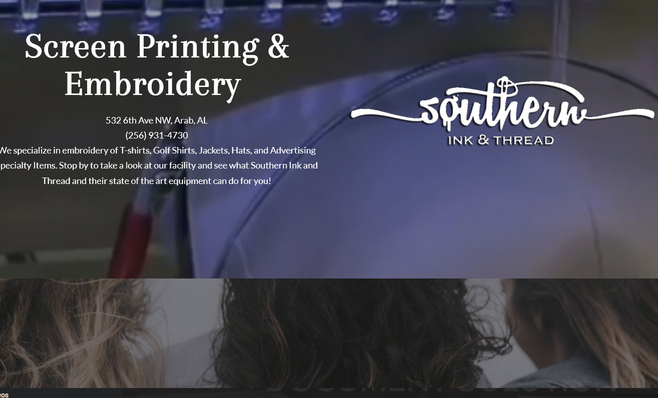 Southern Ink and Thread Emboidery Screen Printing